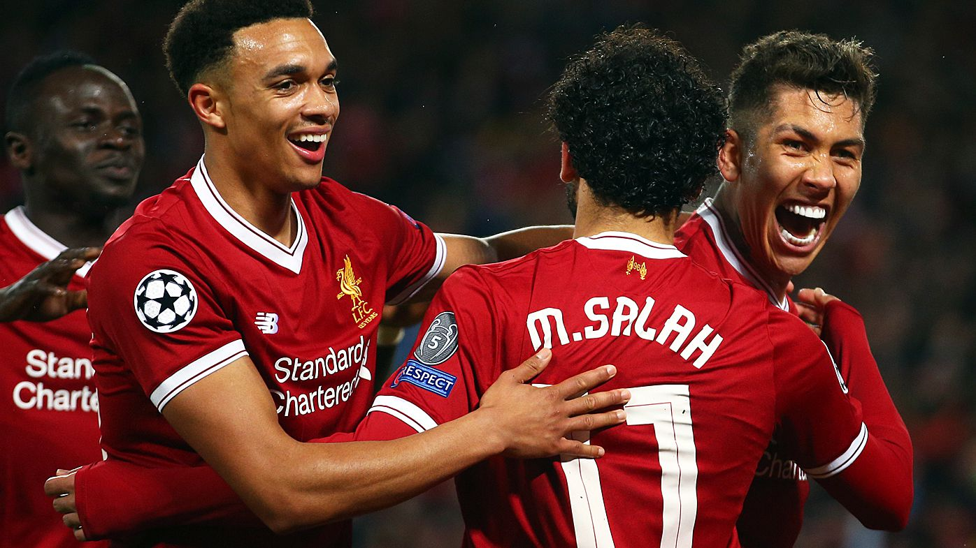 Liverpool smash Roma in Champions League semi-final
