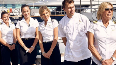 The series follows nine members of a crew who live and work aboard a 46 metre yacht.