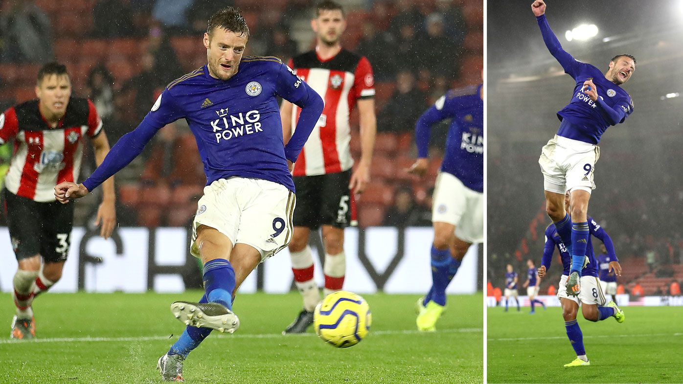Leicester tie biggest English Premier League win with 9-0 thrashing of Southampton