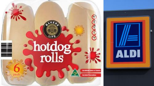 Metal shavings found in Aldi hot dog rolls prompt urgent recall