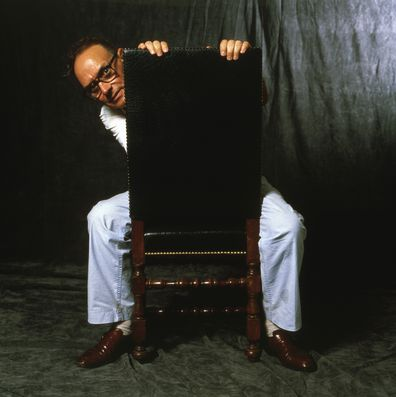 Music composer Ennio Morricone in Rome, Italy, circa 1989. (Photo by Luciano Viti/Getty Images)