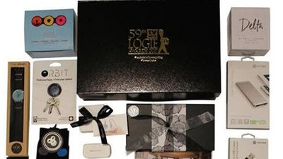 Inside the $4500 Logies gift bag the celebs received
