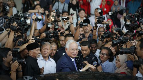 Malaysia's former Prime Minister Najib Razak has been found guilty of graft.
