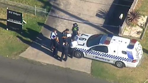 The boy's body was found just after 1.30pm. (9NEWS)