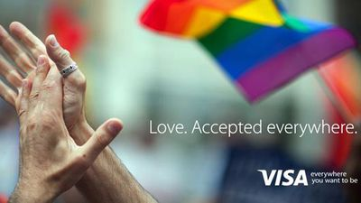 "<p>In celebration of the US Supreme Court's decision to legalise same-sex marriage, Visa put a positive spin on its trademark ""accepted everywhere"" branding.</p><p><strong>Click through to see some of the other positive reactions online. </strong></p>"