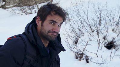 Roger Federer joined Bear Grylls on a terrifying adventure.