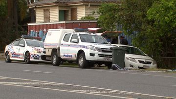 Four men were seriously injured in a Brisbane stabbing attack this morning.