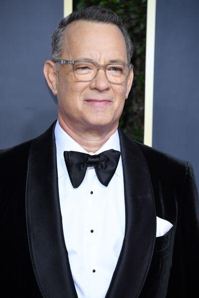 Tom Hanks, Golden Globes, red carpet