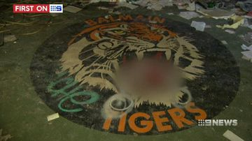 VIDEO: Inside the derelict former home of the Balmain Tigers