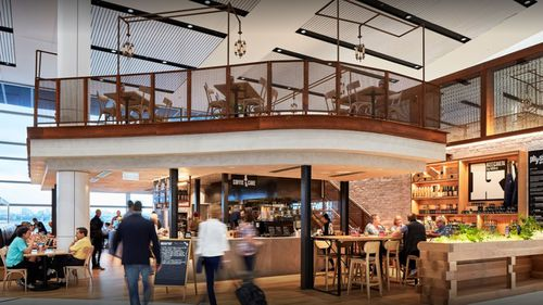 Ms Hildebrandt worked at the Kitchen by Mike restaurant at Sydney Airport.
