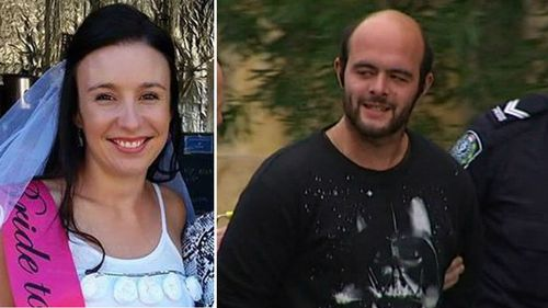 Stephanie Scott (left) and (right) Marcus Stanford, the twin brother of murder accused Vincent. (9NEWS)