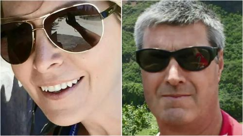 Jacqueline Byrne, 41, and Thomas Spiess, 56, died when a Cleanaway truck ploughed into their stationary cars.