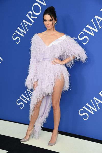 Kendall Jenner in Alexandre Vauthierat the 2018 CFDA Awards