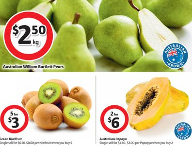 There are lots of fresh specials at Coles this week.