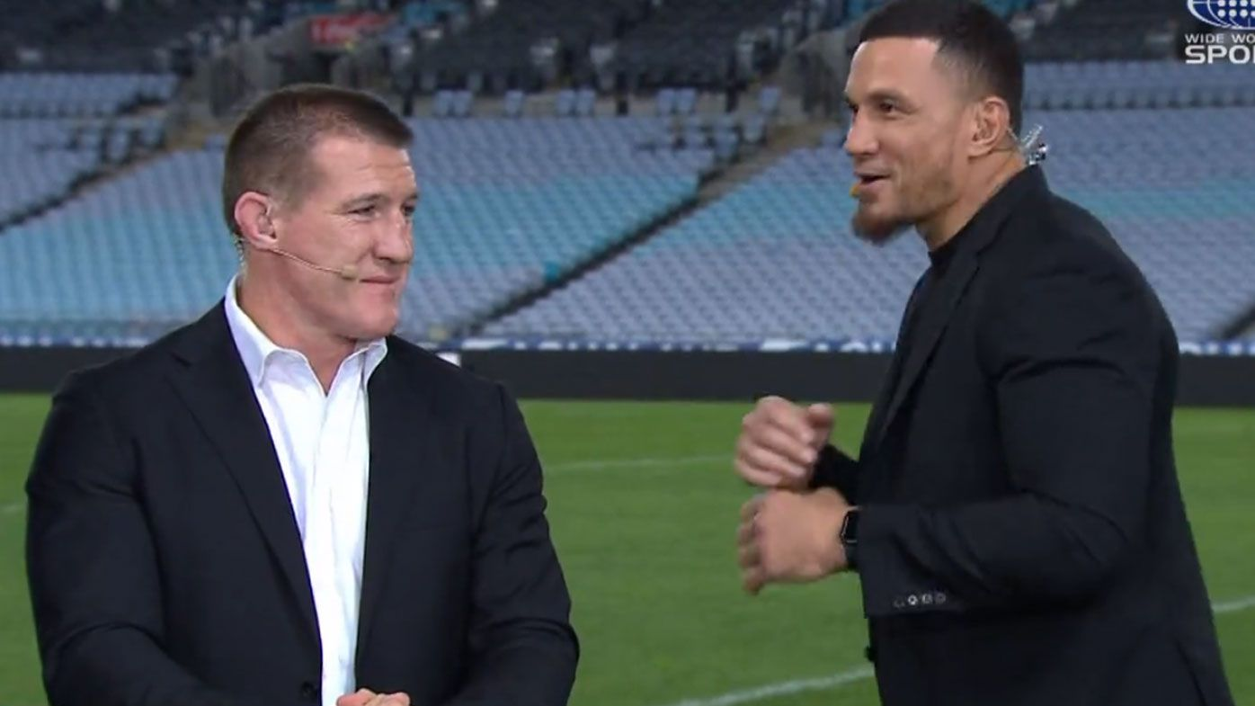 'You're a bit shorter than before': SBW guarantees fight with Paul Gallen will happen