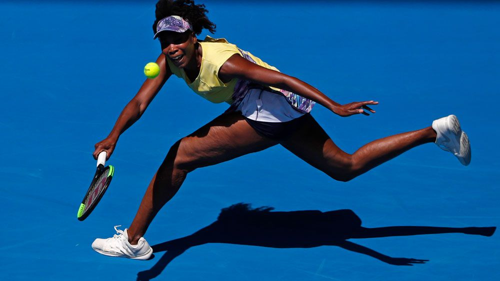 Venus Williams. (AAP)