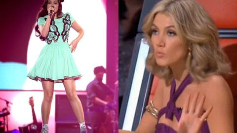 Delta admits 'girl crush' on quirky <i>Voice</i> contestant Kyomi