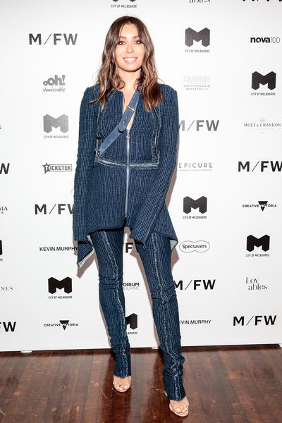 Style blogger Rozalia Russian at Melbourne Fashion Week September 2018