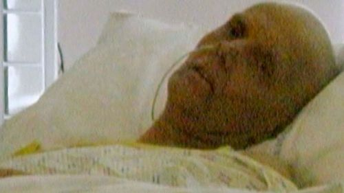 Alexander Litvinenko after being poisoned by polonium in 2006. (AP).