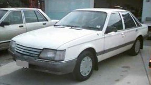 Supplied undated image obtained Monday, June 20, 2011 of the white VK Holden Commodore sedan that Jessica Small got into before she was abducted on Oct. 26, 1997 in Bathurst, New South Wales when she was 15 years old.