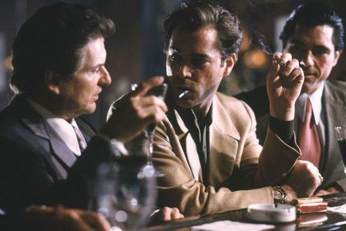 Joe Pesci, left, and Ray Liotta in the film Goodfellas.