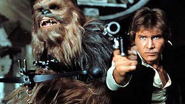 Chewbacca and Han Solo (Lucasfilm)