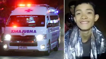 Rescued cave boys kept from seeing families while in quarantine
