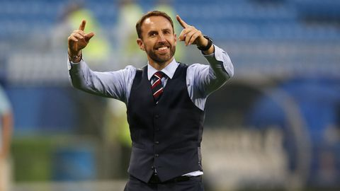 English person Gareth Southgate. (AAP)