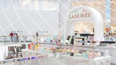 The new Ladurée outlet is part of a $600 million+ redevelopment of Chadstone shopping centre in Melbourne's South East, and the arrival of the macaron boutique has been a much anticipated part of the overhaul, with Australia's macaron obsession showing no sign of slowing.