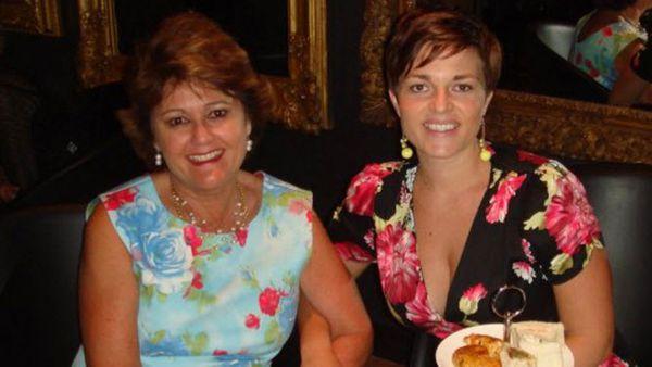 Food Editor Jane De Graff and mother