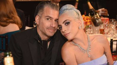 Lady Gaga and Christian Carino in 2018.