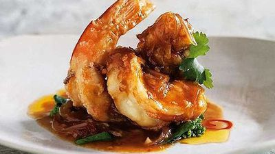 """Add some decadent spiced notes to your romantic evening with <a href=""""http://kitchen.nine.com.au/2016/05/05/13/35/spice-i-ams-prawns-with-tamarind-sauce"""" target=""""_top"""">Spice I Am's prawns with tamarind sauce</a> recipe"""