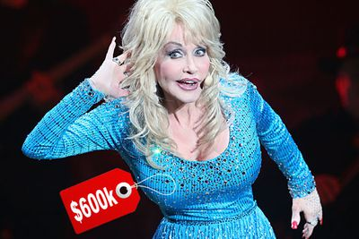 Dolly's biggest assets are insured for $600,000 - which is probably a lot more than she paid for them in the first place. That's inflation for you (boom boom!)