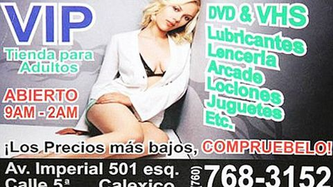 Scarlett Johansson's image used to plug sex shop in Mexico