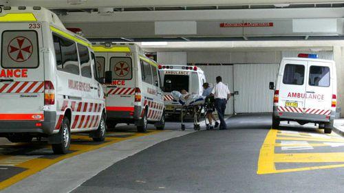 Gosford Hospital's emergency department.
