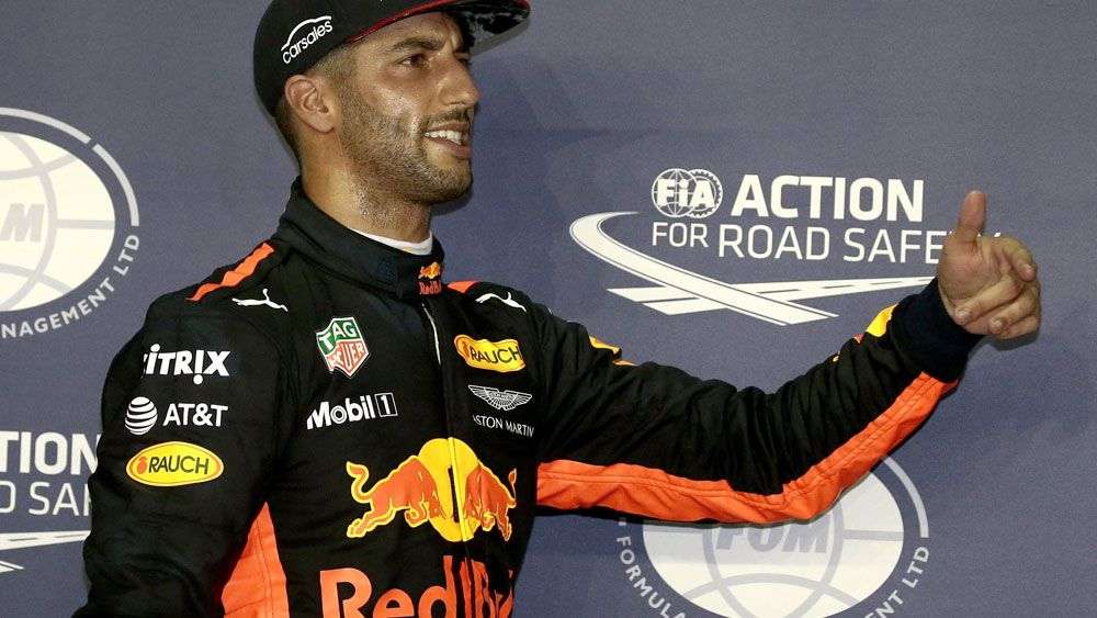 Formula One: Daniel Ricciardo admits he is jealous of the Mercedes car given to rival Lewis Hamilton