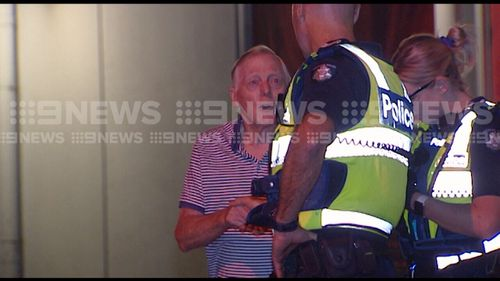 The 82-year-old man was left shaken but not physically injured. (9NEWS)