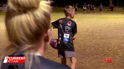 Footy legends speak out to protect younger generation.