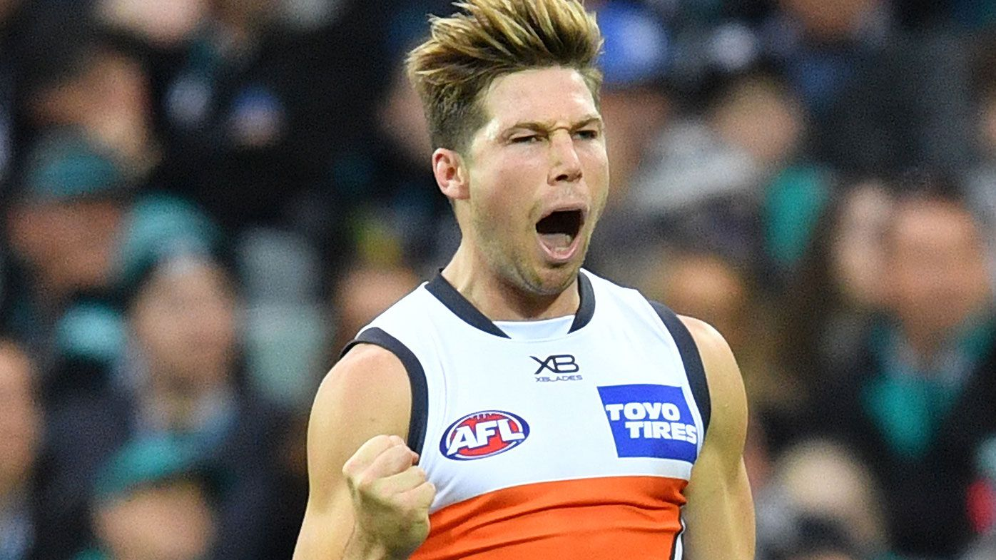 GWS beat Port, up to sixth on AFL ladder