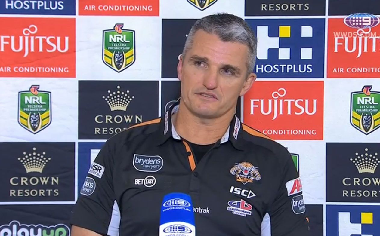 Wests Tigers coach Ivan Cleary remains tight-lipped on future