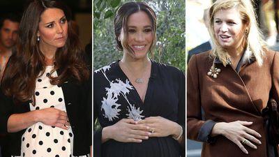 Gorgeous photos of royal mums cradling their baby bumps