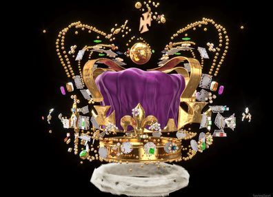 Finance blog SavingSpot has digitally deconstructed the priceless St Edward's Crown to work out it's estimated value 2