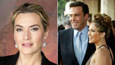 Kate Winslet is ambivalent toward Jennifer Lopez and Ben Affleck romantic reconciliation.