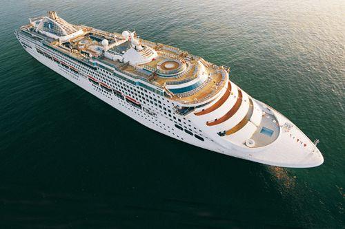 The Sun Princess left Fremantle bound for Kuala Lumpur last week. (AAP)