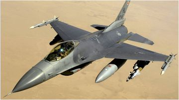 US company selling F-16 fighter jet for $12.5 million.