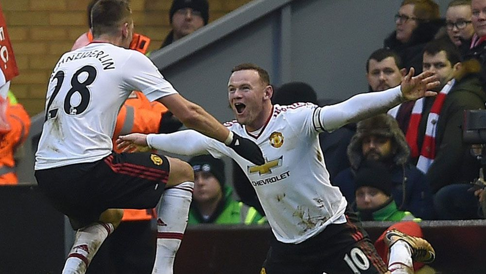 Man Utd beat Liverpool with Rooney goal