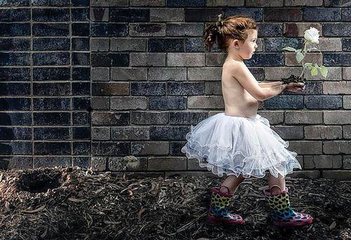 Liver recipient Indi Warner, 4, has paid homage to organ donors in a powerful photoshoot. (AAp / Mat Warner)