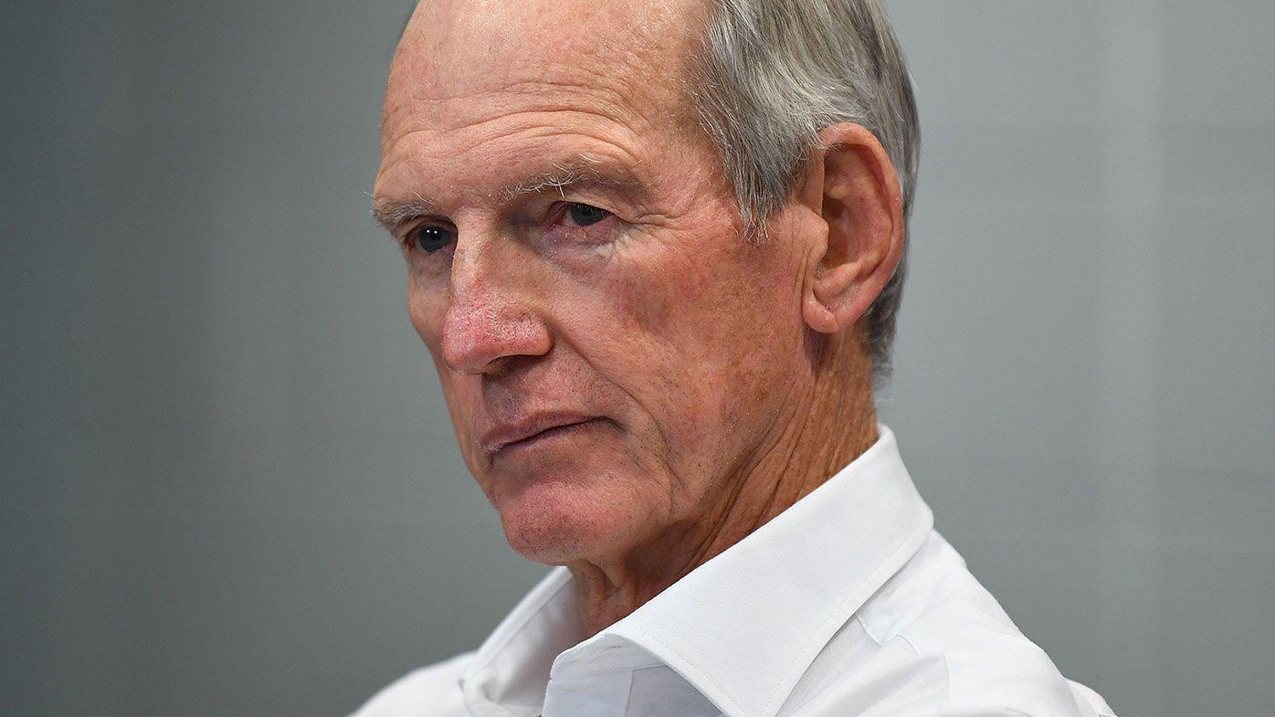 Brisbane Broncos NRL coach Wayne Bennett