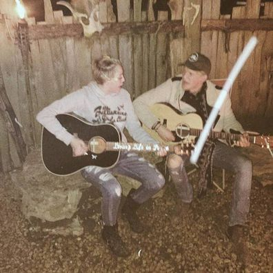 Cody Simpson, Miley Cyrus, hanging out, Nashville, Instagram photo