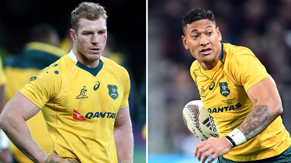 Israel Folau spoke to teammate David Pocock to clear same sex marriage air